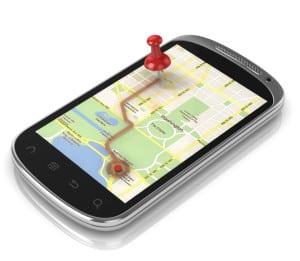 Auch eine Navi-App für Smartphones sollte einem Test unterzogen werden.