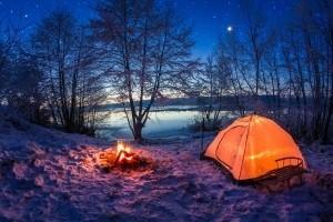 Beim Fahrradheckträger haben Sie noch genügend Stauraum, sodass Sie auch Zelte für das Camping mitnehmen können.