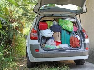 Mit dem Fahrradträger und dem Auto in den Urlaub - Sicherheit geht vor!