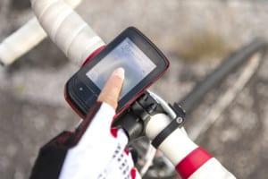Mit der GPS-Funktion können Sie jederzeit Ihre gegenwärtige Position ermitteln.