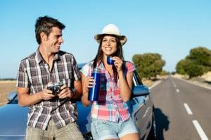 Die Autodachbox ist nützlich für den Urlaub