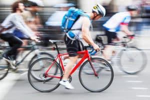 Fahrradrucksack im Test: Leicht und trotzdem ausreichend Volumen.