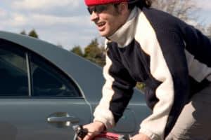 Welchen Anforderungen muss eine Fahrradbrille in einem Test auf dem Bike standhalten?