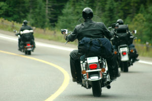 Die Motorrad-Lederkombis im Test weisen alle Protektoren auf, die der Europäischen Norm entsprechen.