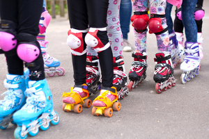 Inline-Skates wie im Test haben viel mit Rollschuhen gemeinsam.