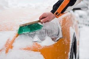 Ein Auto-Luftnetfeuchter-Kissen aus dem Test ist  gerade im Winter empfehlenswert.