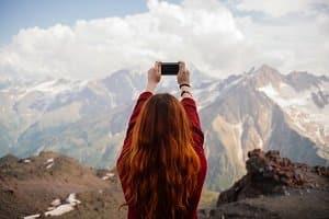 Unterziehen Sie ein Reisetagebuch einem Test, ist die Seitenanzahl entscheidend. Kleben Sie viele Fotos ein, benötigen Sie mehr Platz.