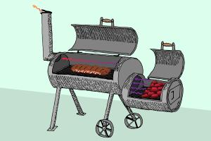 Im Praxis-Test können einige Grillwagen auch als Smoker mithalten.