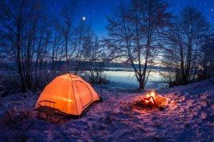 Optimale Belüftung durch Weglassen der Außenhaut? Gute Zelte bieten da andere Möglichkeiten.