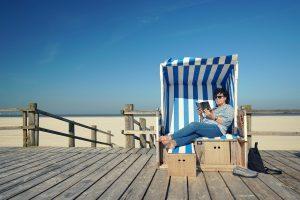 Ein eigener Strandkorb-Test beschert Ihnen den perfekten Korb für das Stranderlebnis im eigenen Garten.