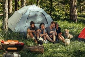 Gasgrill fürs Camping: Bei Ihrem Test sollten Sie v.a. auf Größe und Gewicht achten.