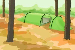 Machen Sie den Test: Ist das Tunnelzelt für 3 Personen ausreichend?