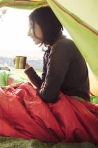 Lieber Zelt 1 oder 2? Person und Ausrüstung müssen mindestens hineinpassen und sollten vorher probeverstaut werden.