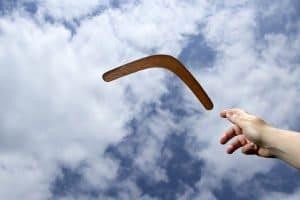 Für Ihren persönlichen Boomerang-Test benötigen Sie ausreichend Platz - mindestens 50 x 50 Meter.