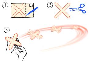 Statt einen Bumerang zu kaufen, können Sie sich auch selbst einen bauen. Im Internet gibt es zahlreiche Anleitungen.