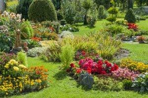 Wenn Sie eine Gartenbank kaufen, sollte diese in Ihren Garten passen.