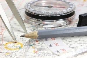 Im Gegensatz zu elektronischen Geräten versagt ein Kompass im Praxis-Test nur extrem selten.