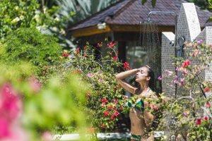 Finden Sie in Ihrem persönlichen Test heraus, welche Gartendusche zu Ihnen passt.