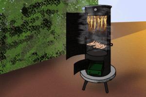 Grill und Räucherofen gleichzeitig? Wer mit der Räuchertonne sparen will, beachte: Das Material bestimmt über die Langlebigkeit.