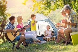 Familien-Test: Das 6-Personen-Zelt kann auch durch mehrere kleinere Modelle ersetzt werden.
