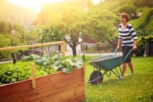 Wollen Sie einen Gartenabfallsack kaufen, sollten Sie seine Größe der Größe des Gartens anpassen.