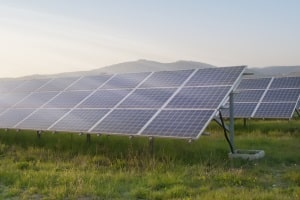 Klärungsbedarf vor Ihrem Test: Solarlampen beziehen ihren Strom über ein kleines Solarpanel von der Sonne.