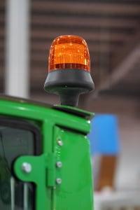 Rundumleuchte: Für einen Test am Fahrzeug müssen Sie gesetzliche Regeln beachten