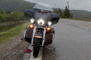 Motorrad-Zusatzscheinwerfer: Im eigenen Test können Sie geeignete Modelle ermitteln.